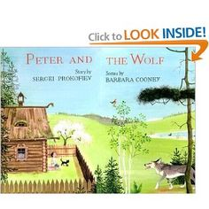 Peter and the Wolf Pop-up Book: Sergei Prokofiev, Barbara Cooney: 9780670808496: Amazon.com: Books