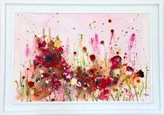 Summer Heat Flower Artwork, Flower Paintings, Original Art, Original Paintings, Irish Art, Summer Feeling, Summer Heat, Selling Art, Large Flowers