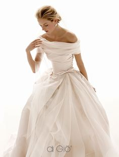 CL-18 Le Spose Di Gio - Off Shoulder Wedding Dress from designer site