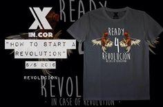 """INCOR """"how to start a revolution"""" s/s 2016 Revolucìon è la grafica creata per INCOR - In Case of Revolution da @ma_pi_art_galufo La trovate nei migliori store e a breve anche online!  http://ift.tt/13uUUlv  #italy #italia #torino #italianbrand #incor  #incaseofrevolution #graphic  #model #italiangirl  #new #marchio #streetwear  #incormood #revolution #vscocam #wear #tshirt  #tattoo #artist #italian #snapback #store #shop #street"""