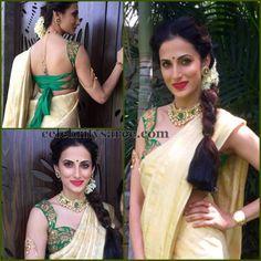 Shilpa Reddy Handwoven Saree   Saree Blouse Patterns