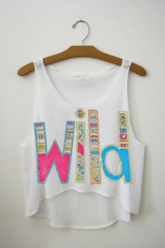 We Are Young Crop Top from Fresh-Tops. Saved to Things I want as gifts. Teen Fashion, Love Fashion, Wild Fashion, Beach Fashion, Summer Outfits, Cute Outfits, Summer Wear, Summer 2015, Casual Outfits