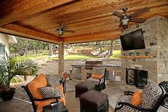 Outdoor Living...I don't like the tv. To me it should be a peaceful get away.