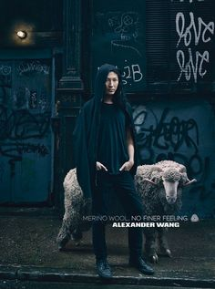 Alexander Wang, bajo el objetivo