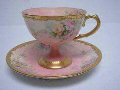 Cup and Saucer ~ Pretty