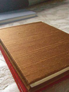 Brown Dupioni Silk Photo Frame Albums $23