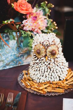 {Edible Owl Centerpiece}