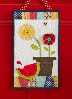 Welcome Home: Summer - great way to use scraps too!