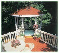 Amazing Deck Gazebo Plans