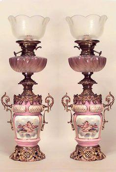 Quinqués y lámparas antiguas