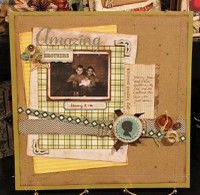 A Project by db2002wall from our Scrapbooking Gallery originally submitted 02/24/12 at 05:25 PM