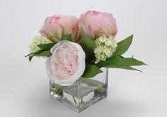 renoncule tomer rose clair | Bouquet pivoine eau d'illusion