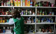 Britain's leading foodbank network, the Trussell Trust, says every single day it is handing out emergency
