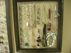 My Craft Projects: Jewelry Holder