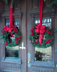 Wreaths Wish I Had Double Doors So Could Do This