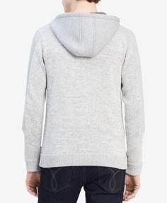 Calvin Klein Men's Colorblocked Full-Zip Hoodie, Created for Macy's - Black 2XL