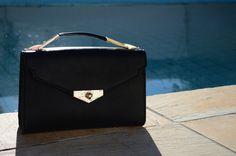 Bolsa preta Arezzo - Verão 2015 #handbag #black #bag