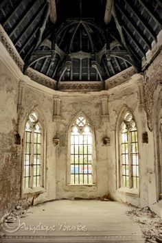 :: Urbex Chateau :: by Liek on @DeviantArt