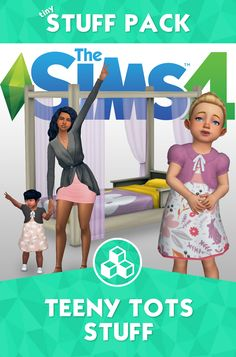 Sims 4 | Teeny Tots Stuff  #toddlers cas clothing fullbody buy mode bed nursery hair hairstyle female A collaboration between @coreopsims​, @javabeandreams​, @applezingsims​, @simxnoire​, @mamalovesnuts and @pickypikachu​