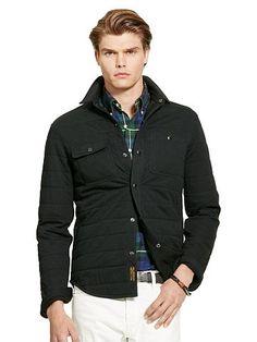 Polo Ralph Lauren Cotton-Blend Shirt Jacket - Polo Ralph Lauren Casual Jackets…