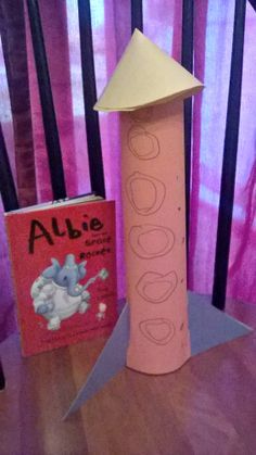 no journey to space is complete without a rocket!   #poppinsbooknook #storybookactivities #onlinebookclubforkids