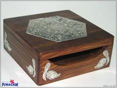 Caja con estaño.              #manualidades #pinacam #estaño #aluminio  www.manualidadespinacam.com