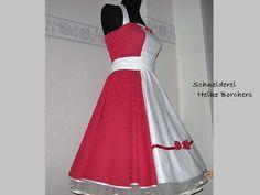 50er Jahre Kleid zum Petticoat Anni von Schneiderei Heike Borchers auf DaWanda.com