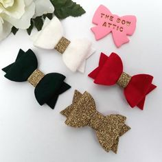 Trustful Sequin Hair Bows Sparkle Hair Bows Ideal Gift For All Occasions Sparkly Hair Bows