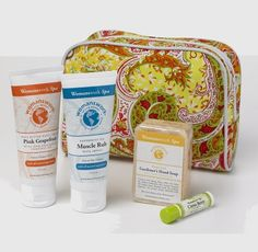 "WIN IT! This special giveaway (Monday 3/21 through Wednesday 3/23) will give ONE LUCKY WINNER pampering in and out of the garden with a pair of Green Digger Gloves & a Spa Gift Set from Womanswork! ""Digger"" garden gloves, sized for women, have reinforced fingertips which offer dexterity and protection for all your chores. The spa gift set comes with a Paisley Spa Bag containing an assortment of Womanswork Spa products: Pink Grapefruit Shea Butter Hand Cream, Muscle Rub with Arnica, Lemon…"