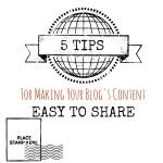 Is Your Content Easy to Share?