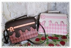 Infanta ~Sweet Chocolate College Style Lolita Crossbody Bag/Handbag/Shoulders Bag $51.99 - My Lolita Dress