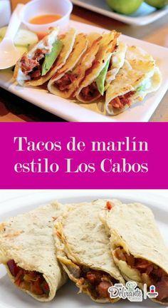 Receta de tacos de marlín estilo Los Cabos | CocinaDelirante