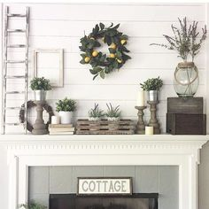 Design#966725: Decor for Mantels – Decorate Your Mantel Year Round (+94 Related Designs) | iFloatSpa.net