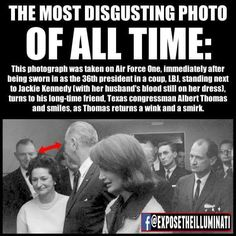 LBJ 3 days before JFK death signed paperwork going against JFK TOLD BY BUSH several years ago LBJ knew of assassination. Illuminati Conspiracy, Conspiracy Theories, Weird Facts, Fun Facts, Strange Facts, Good To Know, Did You Know, Long Time Friends, Jackie Kennedy