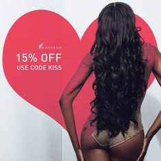 Want new bundles for Valentine's Day? HURRY! You only have 2 1/2 hours to shop before it's too late! Choose overnight shipping at checkout to ensure you get your hair http://tiffanymoore.mayvenn.com KISSPROMOFB.