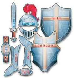 "Armor of God Clip Art | Romans 8:37 ""Nay, in all these things we are more than conquerors ..."
