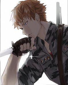 Manga Boy, Anime Manga, Anime Art, Fantasy Characters, Anime Characters, Mc Lb, Satsuriku No Tenshi, Character Art, Character Design