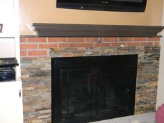 Brick Fireplace Makeover Ideas | Fireplace | Pinterest | Brick ...