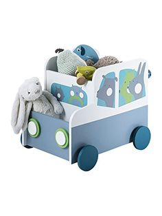 In non-toxic lacquered MDF. Overall height: Size without wheels (h x w x d): Self-assembly. Baby Bedroom Furniture, Kids Furniture, Kids Bedroom, Wooden Toy Boxes, Wooden Toys, Baby Boy Rooms, Baby Room, Baby Hamper, Kids And Parenting