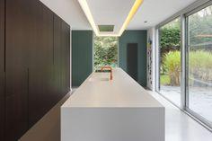 Fotografie van verschillende interieurs en architectuurprojecten voor architecten in 2015.  © foto's Liesbet Goetschalckx
