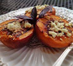 Recipe: Grilled Balsamic Honey & Feta Peaches