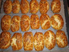 Greek Desserts, Baked Potato, Feta, Food And Drink, Pizza, Sweets, Cheese, Snacks, Ethnic Recipes