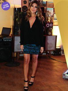 Look do Dia - Fernanda Paes Leme (Foto: Manuela Scarpa/ Foto Rio News)