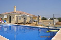 A GREAT VALUE AND EXTREMELY WELL PRESENTED 2 BED DETACHED VILLA WITH PRIVATE POOL WITHIN WALKING DISTANCE OF ARBOLEAS  VILLAGE, ALMERIA.