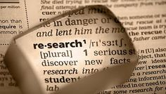 The Bearded Scribe: Research, Research, Research