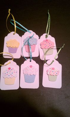 "Gift tags idea for gift wrapping or food gift packaging. Would also be cute on cupcake ""Gifts from the Kitchen"" and ""Bake Sale"" items. Diy Gifts, Handmade Gifts, Diy Gift Tags, Birthday Tags, Birthday Diy, Birthday Cupcakes, Birthday Quotes, Birthday Greetings, Birthday Wishes"