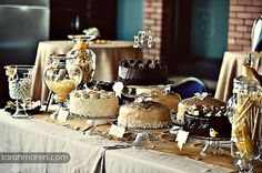 dessert buffet, cake buffet