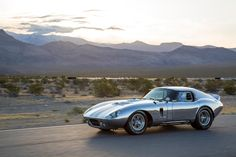 50th Anniversary Shelby Daytona Coupe.... What a stunning car, looks as fresh and beautiful now as it did 50 years ago...Awesome!