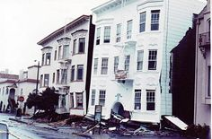 Many of the Marina District buildings' ground floors were crushed with the impact of the 1989 Loma Prieta earthquake, as evidenced in this reader-submitted photo. Photo: Bradley Mart, Special To The Chronicle