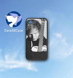 ED Sheeran Guitar  Print on hard cover for iPhone by Dara48Case, $12.99